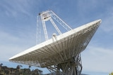 The 70 metre antenna at the Canberra Deep Space Communication Complex