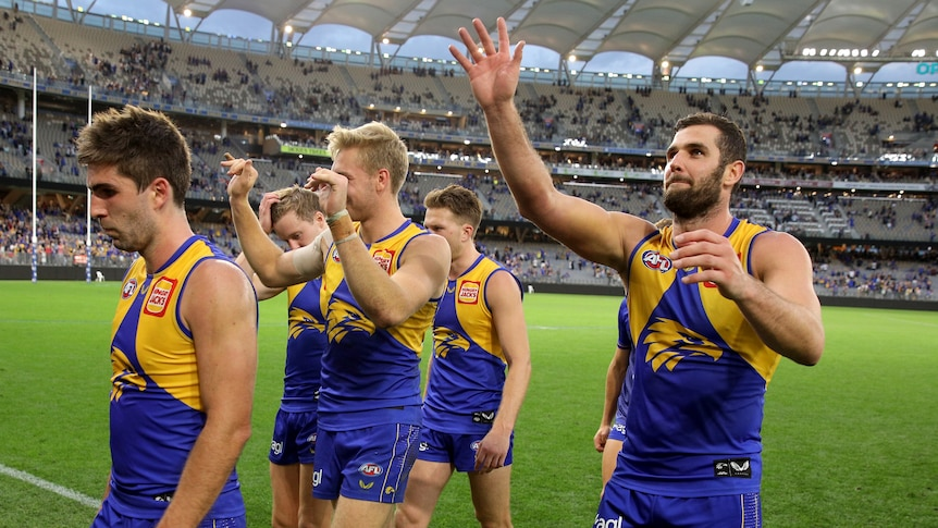 West Coast thumps Adelaide by 40 after Demons move to 9-0 against Carlton