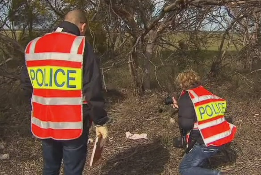 Police find material during search near Wynarka