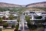 Alice Springs township as seen from Anzac Hill.