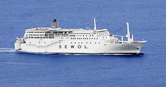 The ferry Sewol