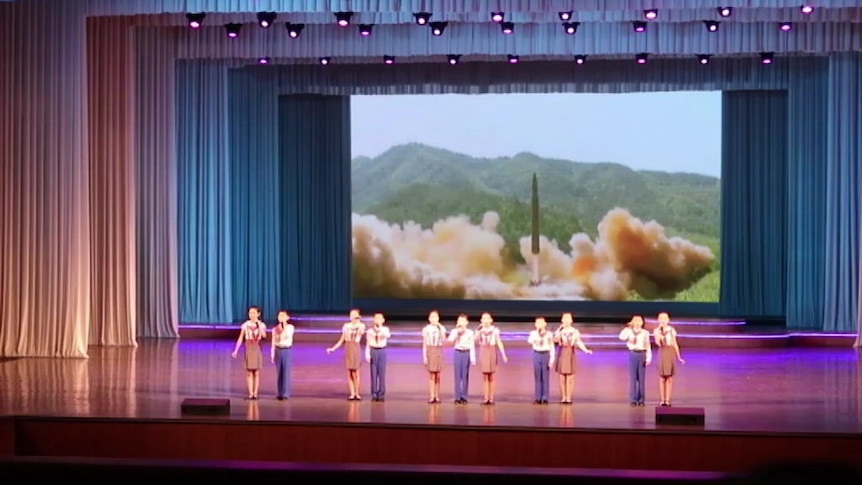 The tourists to North Korea see the best talent the country has to offer
