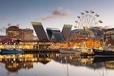 Hobart waterfront mock image