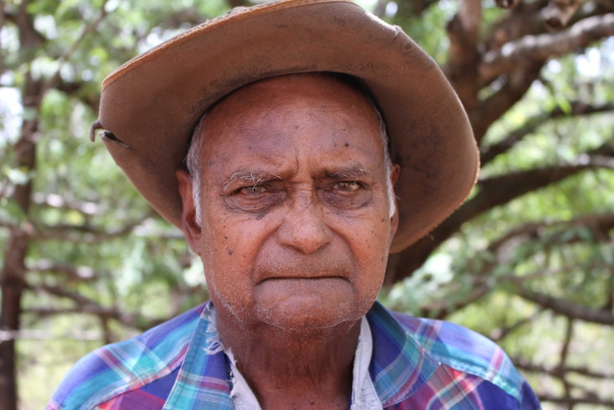 Old Aboriginal man
