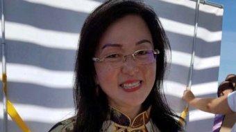A portrait of Gladys Liu.