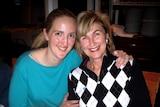 Katrina Dawson and her mother Jane Dawson.