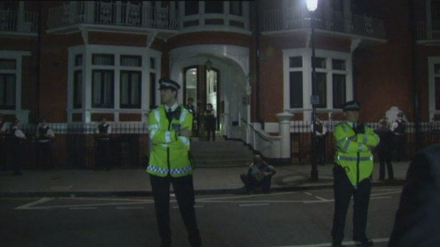 Geoffrey Robertson QC says the British are unlikely to enter the Ecuadorian embassy