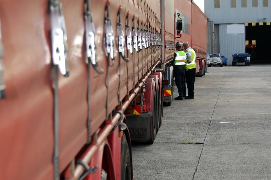 Lennons truck raid