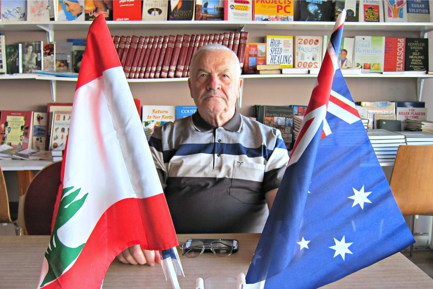 Beshara Taouk at the Australian Lebanese Association of Victoria