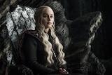 Daenerys Targaryen in a still from season seven of HBO's Game of Thrones