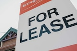A for lease sign outside a federation-era house.