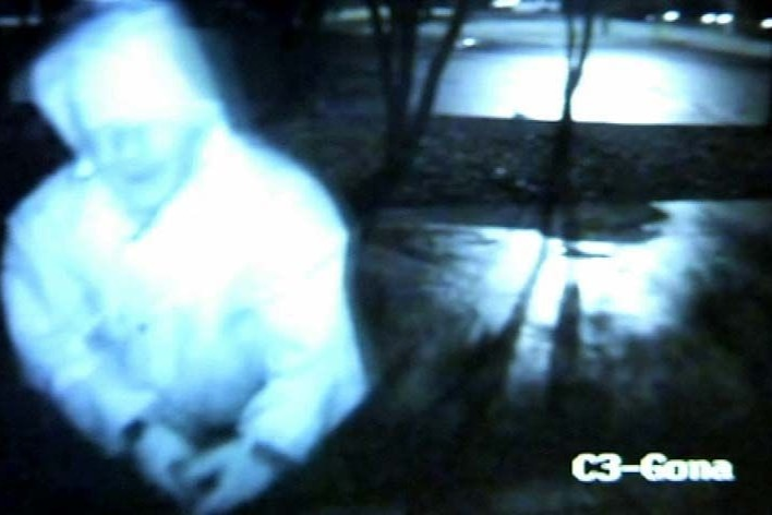 The man NSW Police are wanting to contact in relation to a vandalised Kokoda Track Memorial Walkway