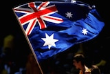 File photo: Australian flag at the cricket (Getty Images: Mark Dadswell)