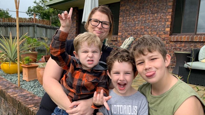 Emma and kids