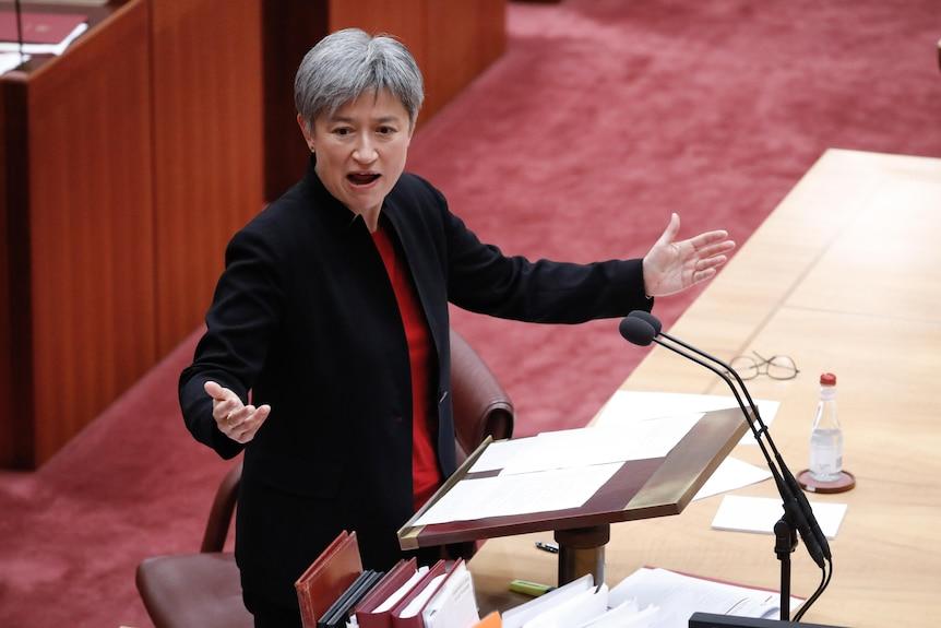 Senator Penny Wong. June 23, 2021