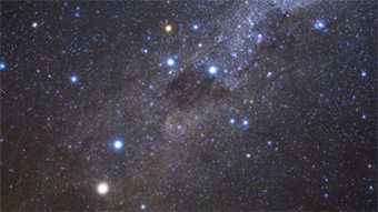 Close up of Southern Cross