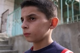 Marwan, 10, was arrested last month after he was accused of throwing stones