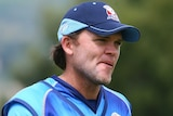 Auckland's Lou Vincent looks on during the T20 match between Otago and Auckland in December 2012.