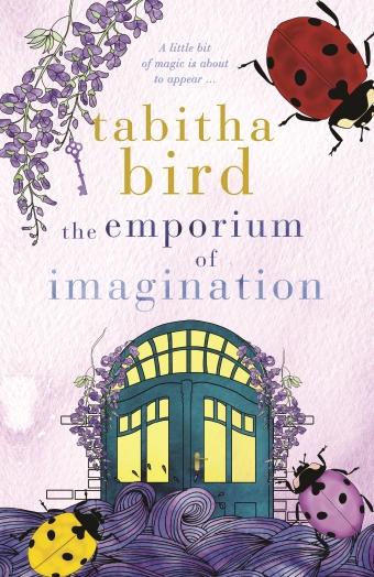 Tabitha Bird's The Emporium of Imagination Book Cover, Magic Doors and Ladybugs