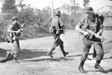 Troops of B Company, 1 Battalion during Vietnam War