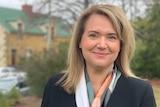 Newly-elected  Madeleine Ogilvie