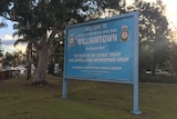 Williamtown RAAF base near Newcastle.