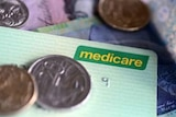 Medicare cards and coins