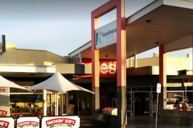 The entrance to Coles at Bundoora Square.