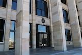 WA Parliament front steps