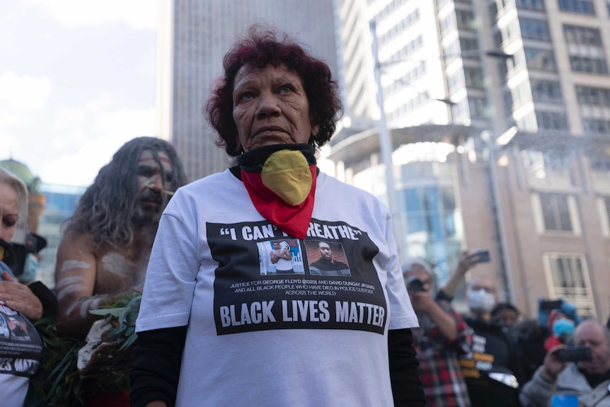 Australians rally in solidarity with Black Lives movement