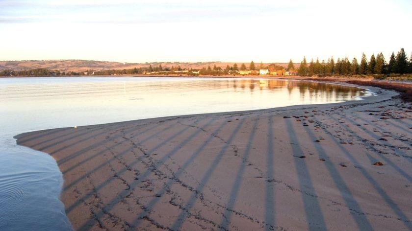 Beach at Victor Harbor
