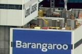Lendlease construction site at Barangaroo