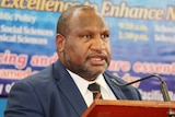 PNG Prime Minister, James Marape (PMO photo)