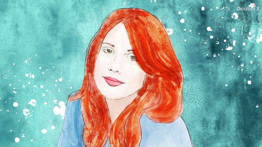 An illustration of Australian singer-songwriter Clare Bowditch