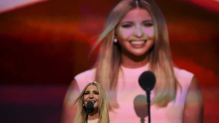 Ivanka Trump said her father valued gender and racial equality.