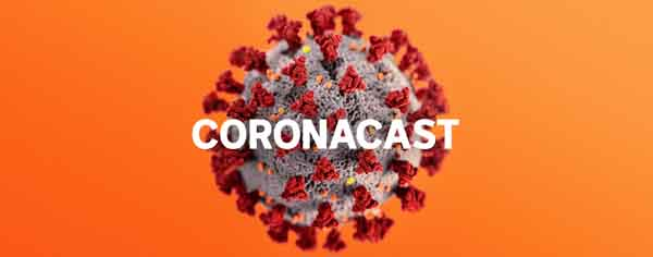 Coronacast podcast artwork
