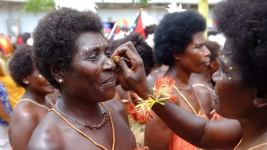 Women in Buka