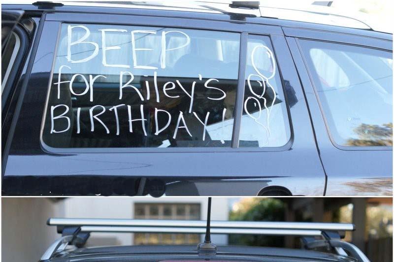 Honk for birthday