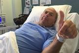 Bill Andrews recovering in hospital