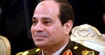 Egypt president Abdel Fattah al-Sisi CUSTOM image