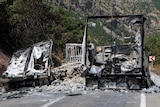 PKK militants drove a tractor filled with explosives into a military outpost killing two in eastern Turkey