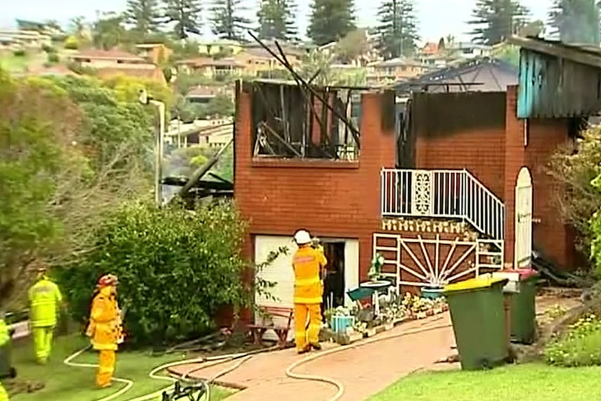 Deadly blaze at house in Gerringong