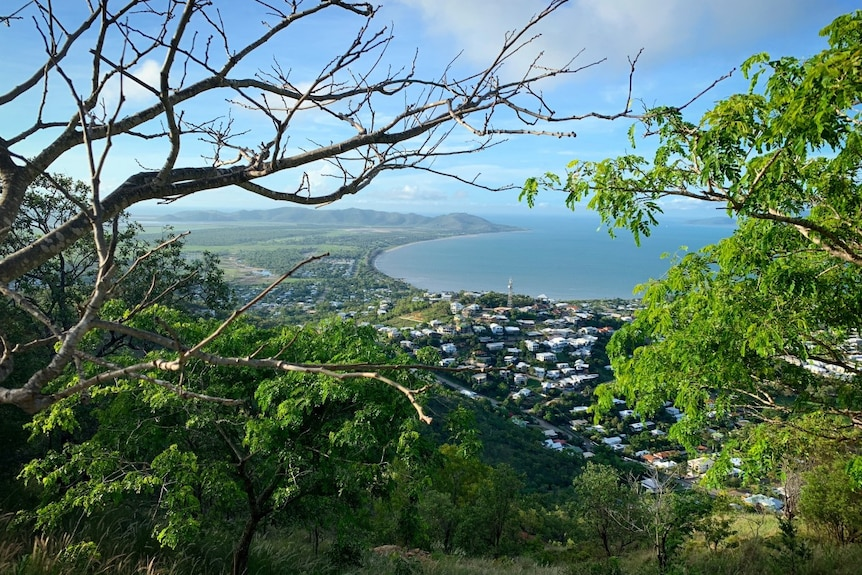 A view of Townsville from Castle Hill