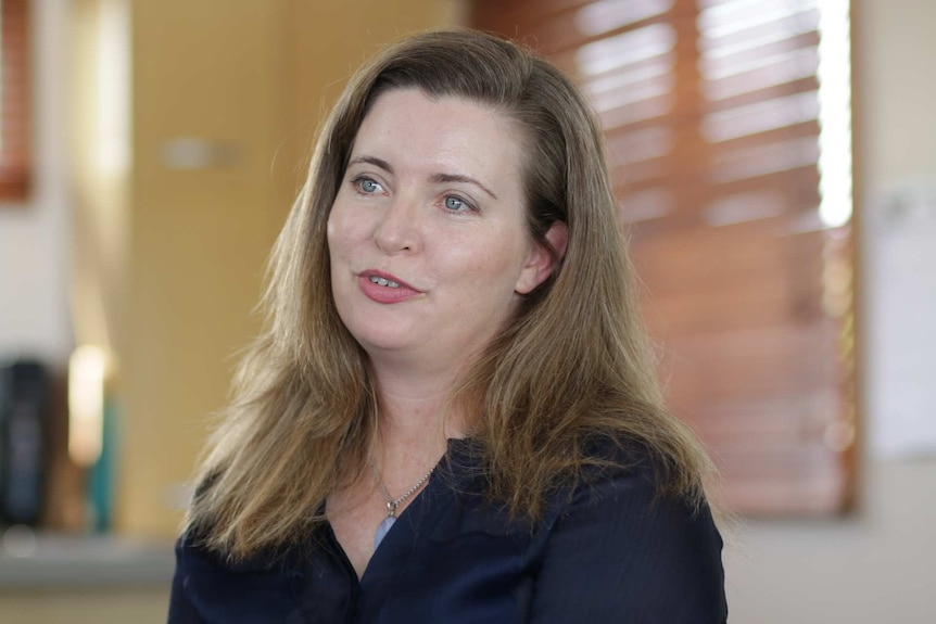 Toni McCaffery's daughter died of whooping cough. Interview by 7.30, December 2018