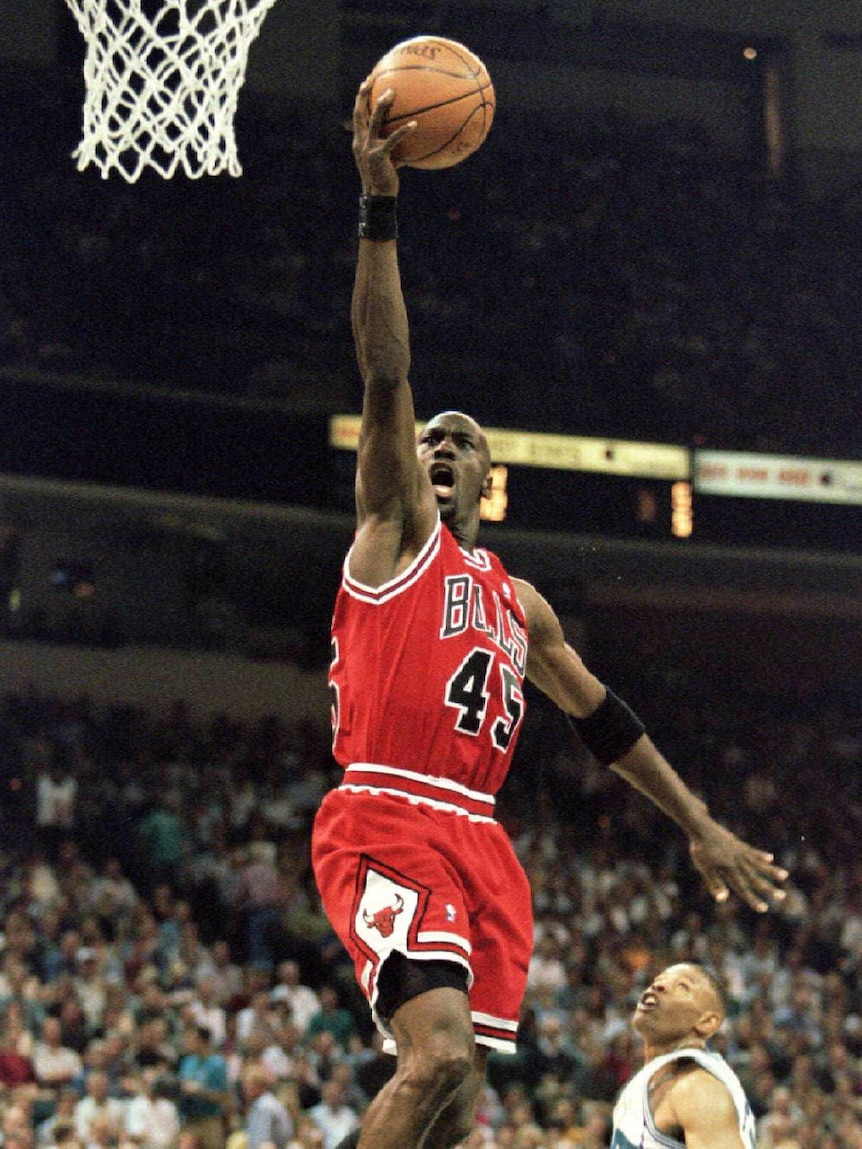 Michael Jordan plays for the Chicago Bulls.