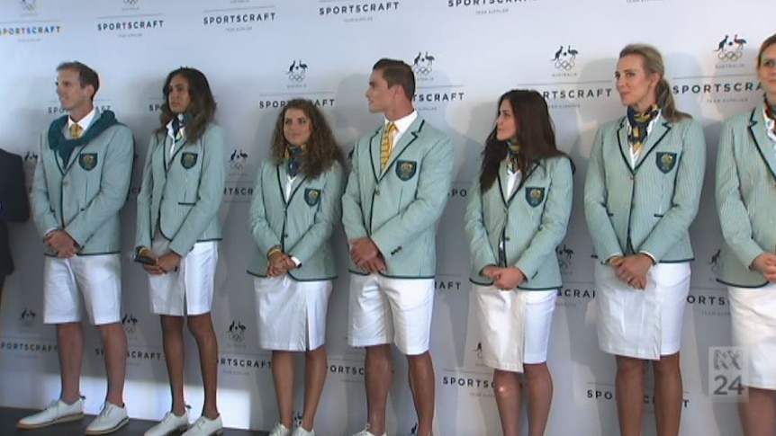Athletes reveal what they think of new Olympic uniform