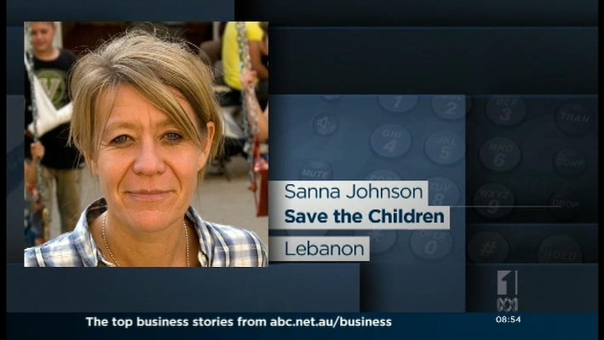 Sanna Johnson from Save the Children discusses the mass exodus