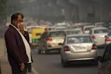 New Delhi cuts cars to combat pollution