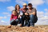 SA drought Paschke family photo