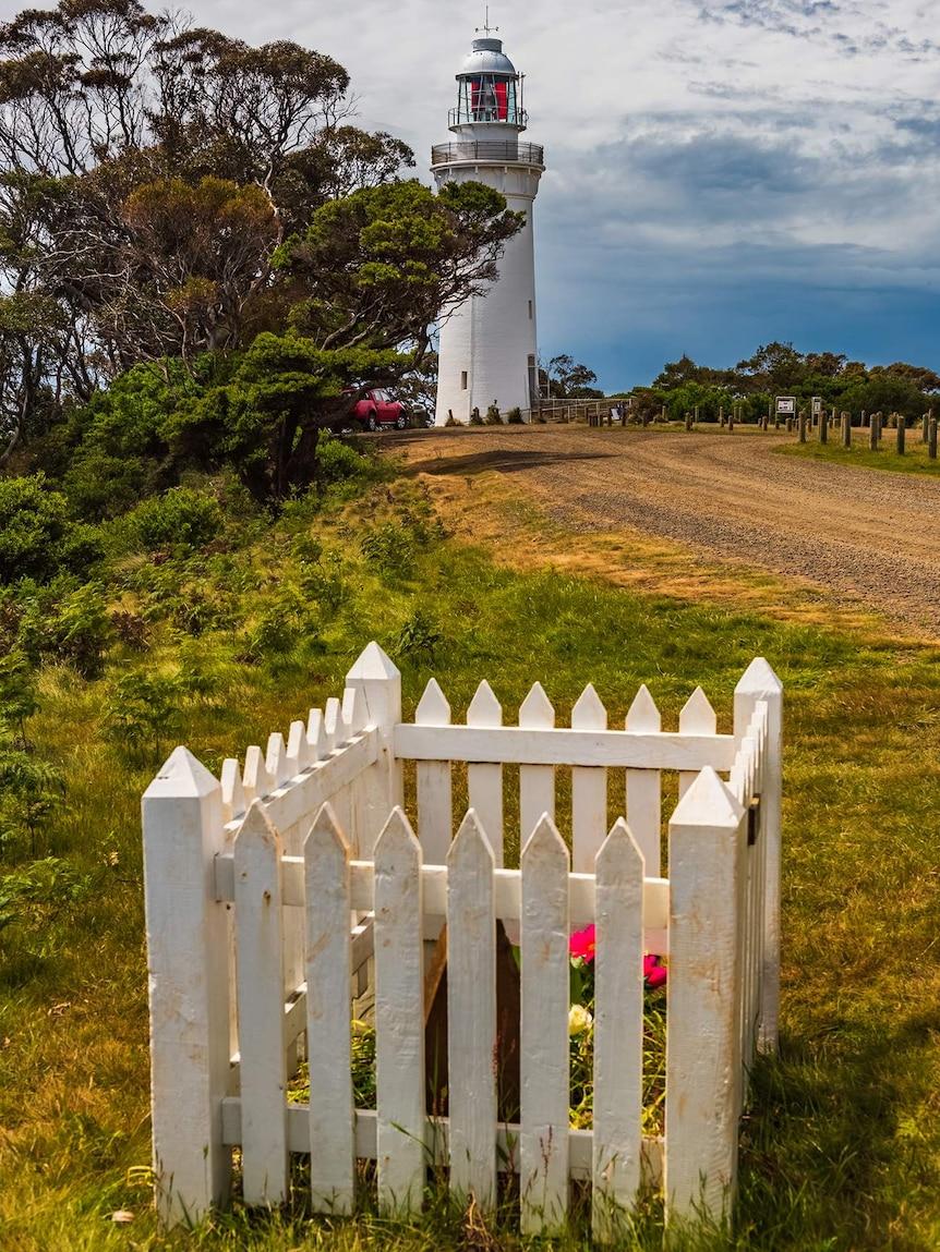 A grave near the Table Cape lighthouse, Tasmania.